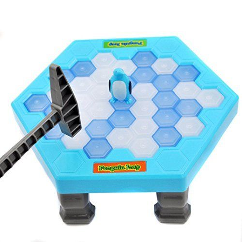 Littleice HOT Save Penguin Ice Kids Puzzle Game Funny Break Ice Block Hammer Trap Party Toy. #Littleice #Save #Penguin #Kids #Puzzle #Game #Funny #Break #Block #Hammer #Trap #Party