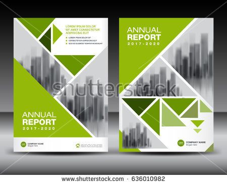Best Annual Report Template Images On