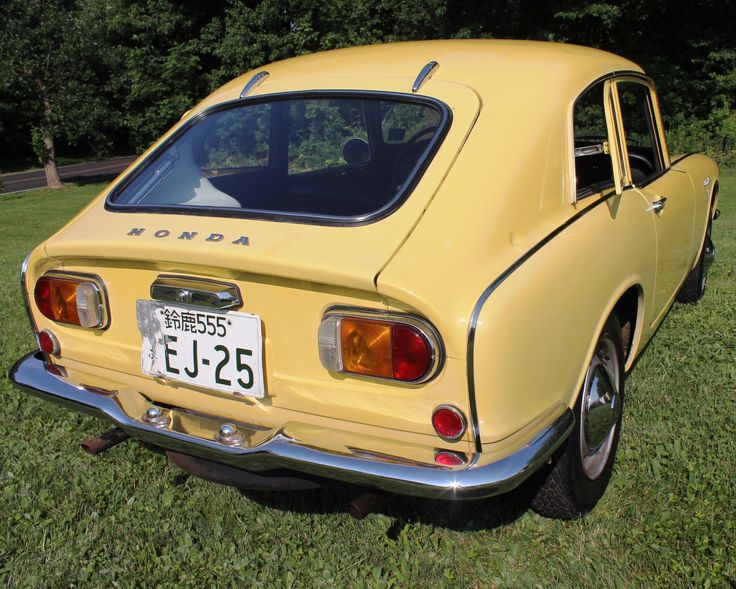 This 1970 Honda S800 Coupe is a left-hand drive example that was imported to the US when new and is said to have remained in storage with the original dealer until 1983. Just 1,249 kilometers (~775 miles) are currently shown on the odometer, which the selling dealer believes to be correct based on h