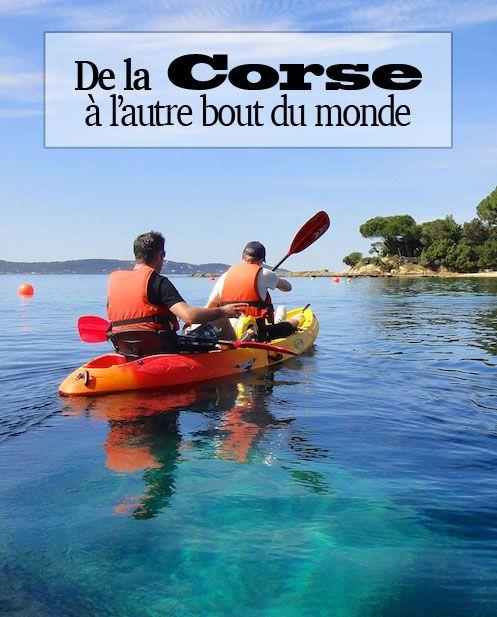Se laisser voguer sur une mer translucide parsemée de criques désertes et de rocher majestueux en granit rose, c'est une activité paisible qui ne laisse pas indiffèrent en voyage. Quand on nous a proposé de découvrir la baie d'Ajaccio en kayak avec Cors'Aventure à l'occasion de #WeAreTravel15, on a sauté sur l'occasion car nous étions sûr de ne pas être déçu par cette expérience sportive. Venez découvrir la Corse avec nous.... #corse #france #ajaccio #kayak #slowtravel