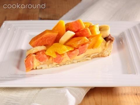 Crostata ai frutti tropicali: Ricette Dolci | Cookaround