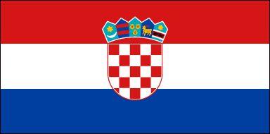 Drapeau de la #Croatie