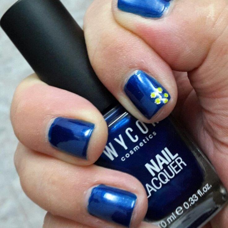 smalto WJCON n 147 azzurro metallizzato ❤