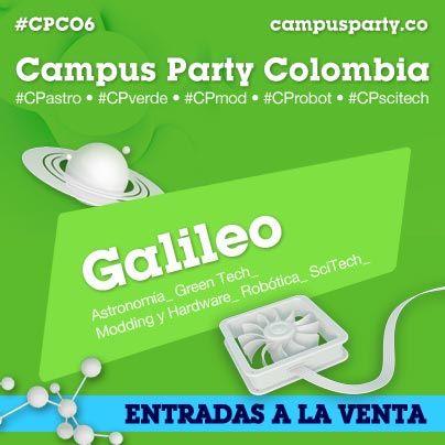 Escenario Galileo #CPCO6 Campus Party Colombia