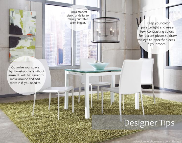 How To Maximize Your Small Dining Space