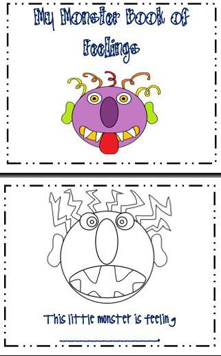 Emotions Worksheets For Preschoolers | ABITLIKETHIS