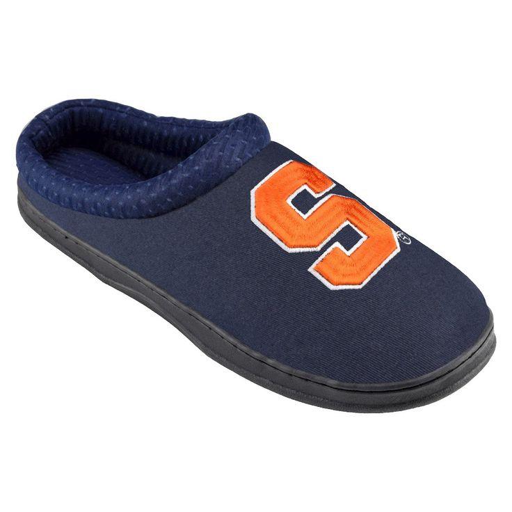 Syracuse Orange Slippers S, Men's