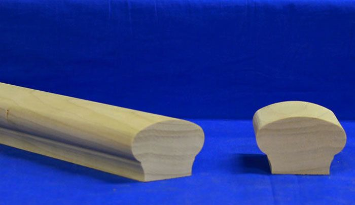 Kinzel Wood Products Store - K6511 Wood Handrail, $34.40 (http://store.kinzelwoodproducts.com/k6511-wood-handrail/)