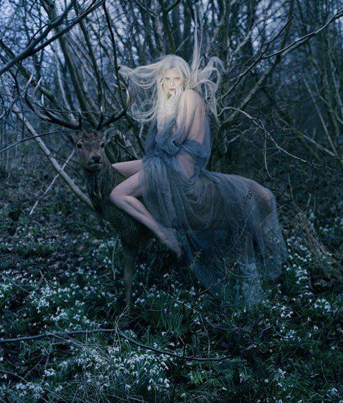 Beautifully Strange :: Kristen McMenamy by Tim Walker