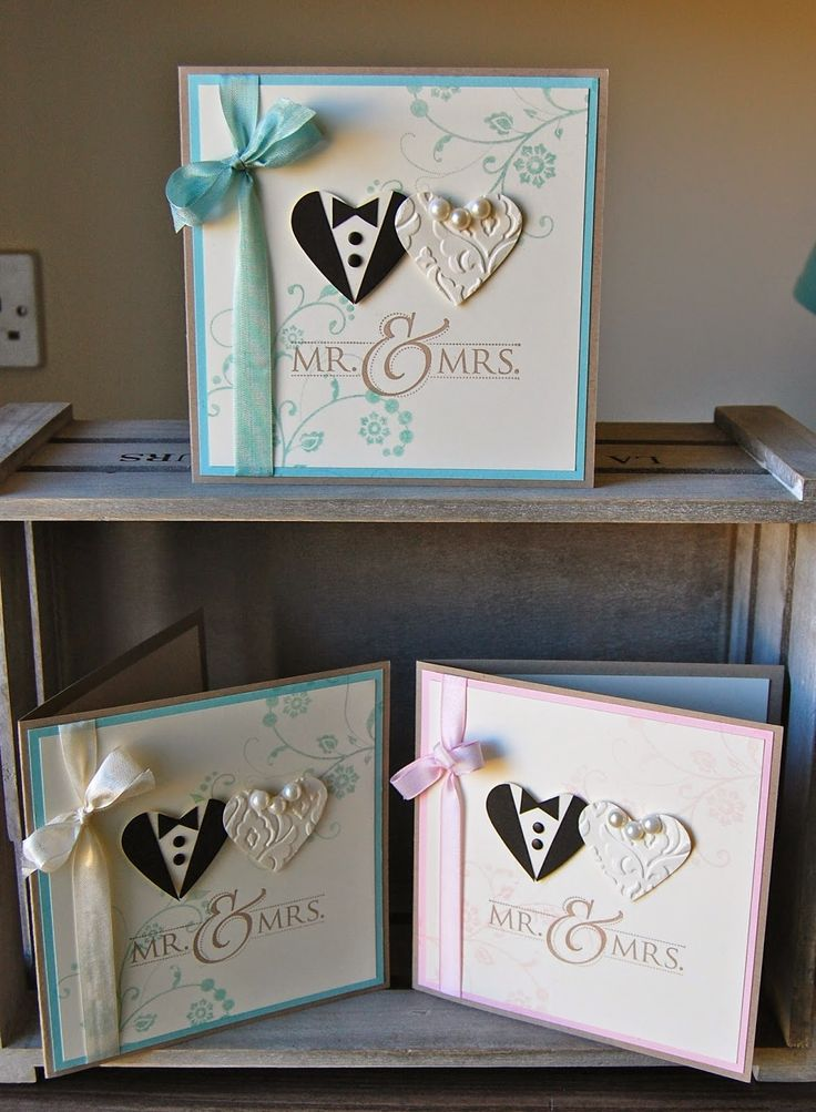UK Independent Stampin' Up! Demonstrator - SHOP ONLINE Wedding - Mr & Mrs