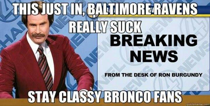 Broncos vs Ravens