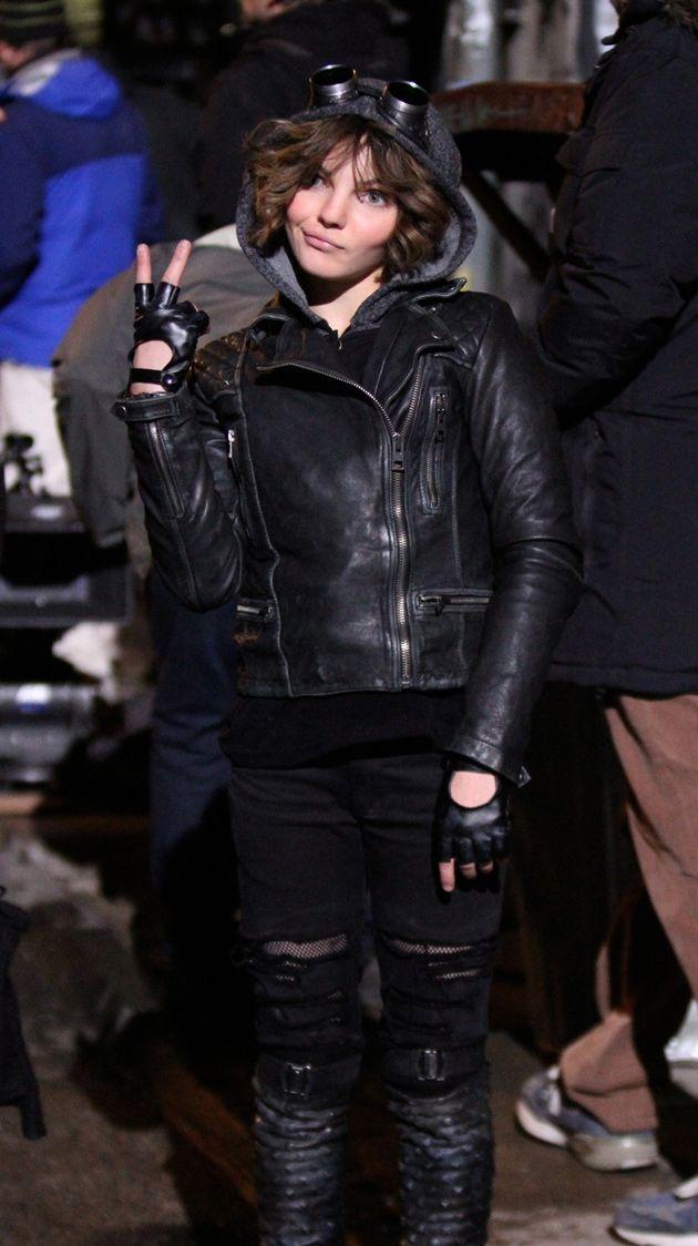 "Camren Bicondova as Selina ""Cat"" Kyle in Gotham."