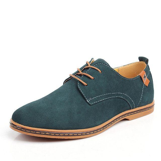 HEFORSHE Men Casual Dress Shoes