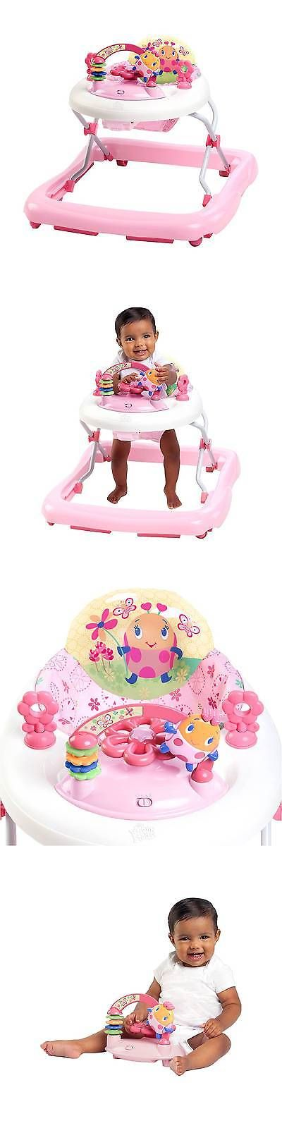 Baby Gear 100223: Bright Starts Pretty In Pink Walk-A-Bout Baby Walker - Juneberry Delight -> BUY IT NOW ONLY: $34.99 on eBay!