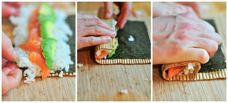 make your own sushi! so easy and fun!