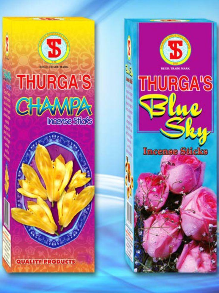 THURGA's Champa & Blue Sky Incense $3 packet available @ Qincense.com.au