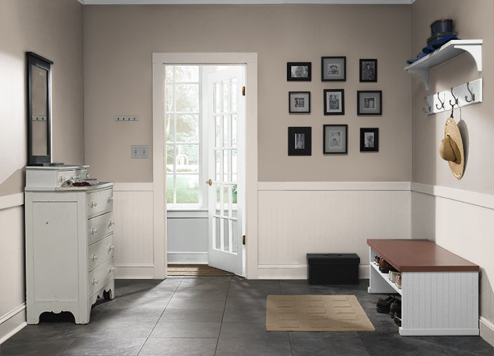 Bathrooms, Hallway UpstairsI used these colors: ASHEN TAN ...