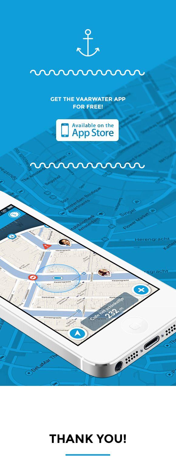 App Design: Vaarwater on Behance