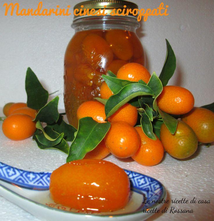 Mandarini cinesi sciroppati