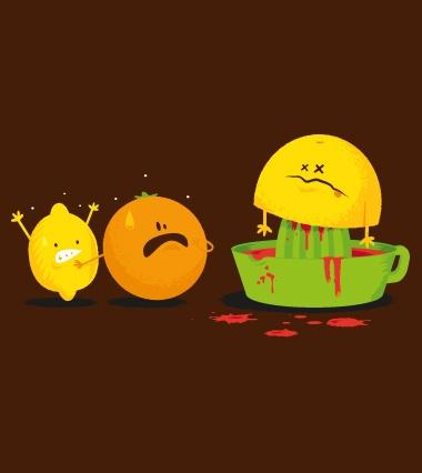 Murder! -  Happy drawings :)