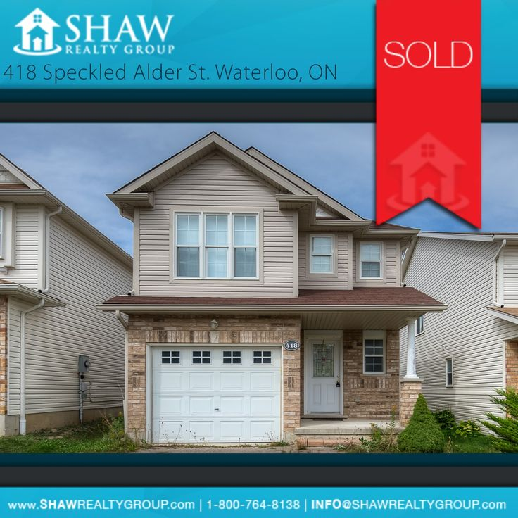 ***JUST SOLD!***  The new owner of this magnificent house just made a smart move! Congratulations on your successful purchase! #SoldProperty #Waterloo #RealEstate #LeadingTheWayRealEstateIsSold www.ShawRealtyGroup.com