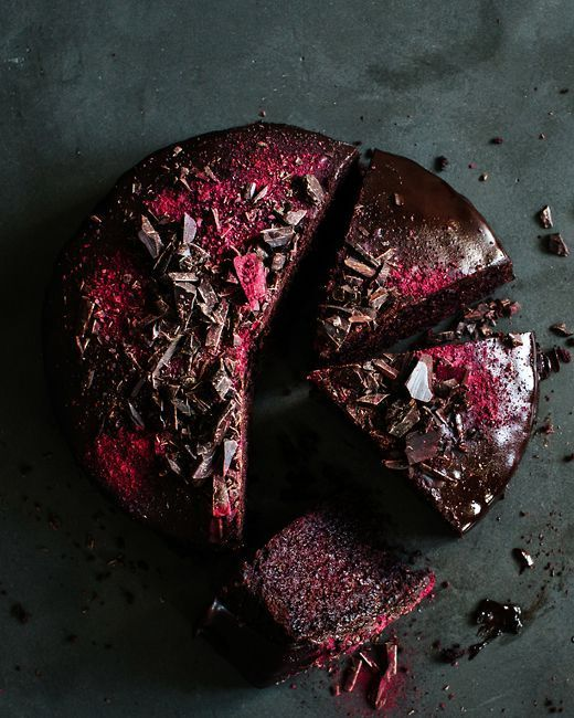 // Beetroot chocolate cake