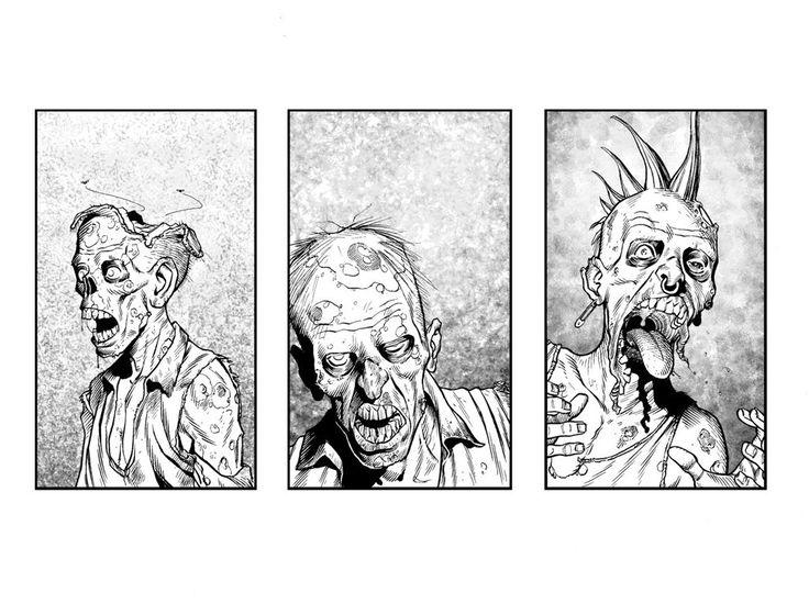 Three Zombies