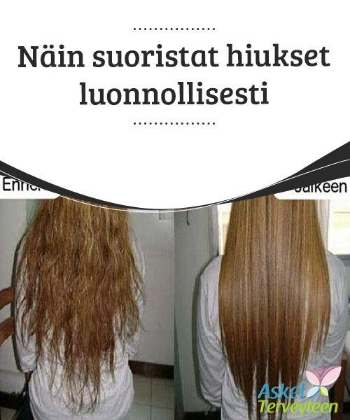 Näin suoristat hiukset luonnollisesti   Monet naiset kaipaavat suoria #hiuksia, mutta eivät halua vahingoittaa kuontaloaan #käyttämällä voimakkaita kemikaaleja tai #suoristusrautaa.  #Kauneus