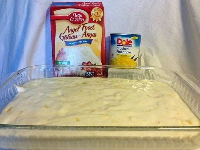 Hawaiian Delight Cake With Using Only 2 Ingredients One
