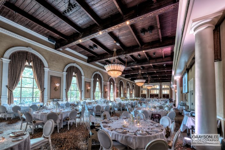 An elegant wedding at the Renaissance Room at the Liberty Grand in Toronto, Canada.