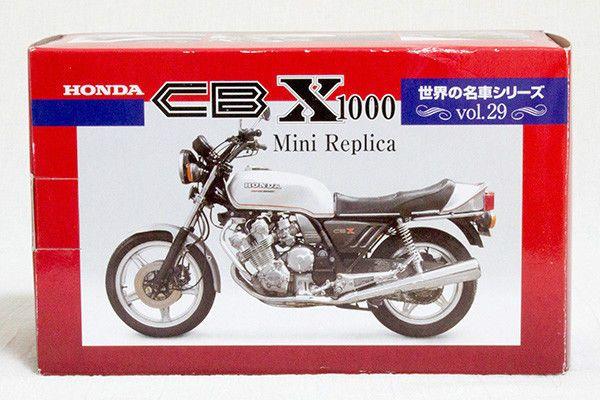HONDA CBX1000 Mini Replica Vol.29 Red Baron Wolrd Famous Motorcyle JAPAN