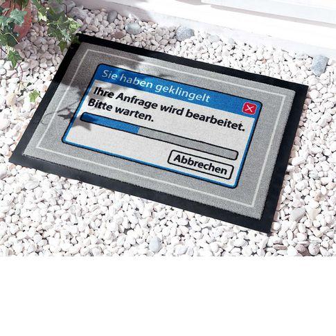 Fußmatte Ihre Anfrage wird bearbeitet, waschbar, Polyamid , ca. 40x60 cm