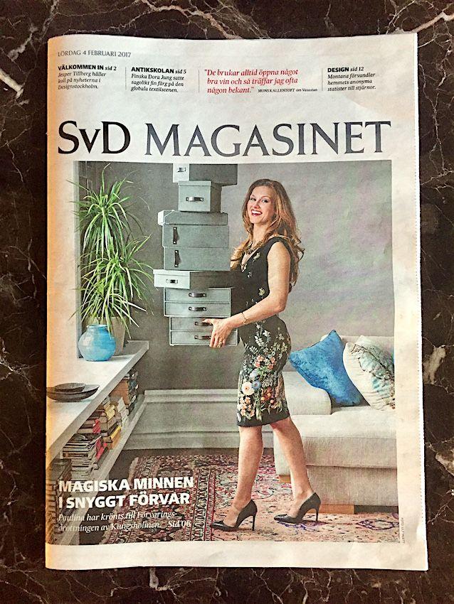 Paulina Draganja Förvaringsdrottningen SvD Magasinet