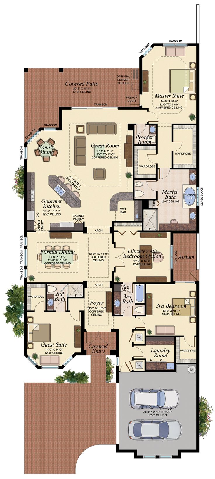 Pacific_-_Rialto_-_FloorPlan.png (935×2082) I think I just found my dream house. #perfecthouse
