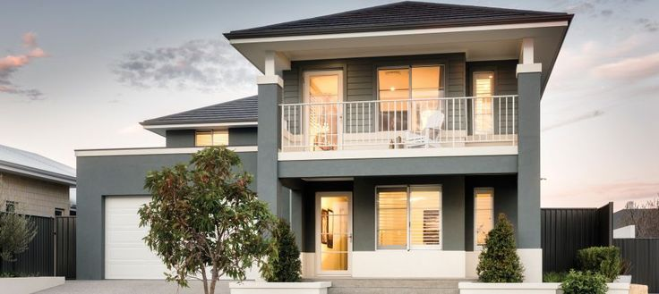 apg homes - Cove Display Home - Hamptons style front elevation