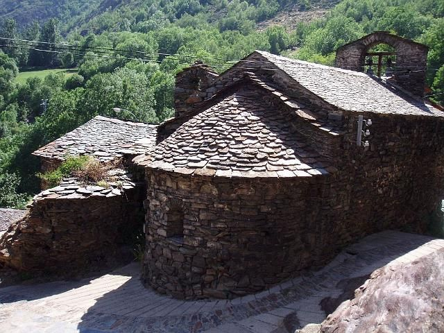 Traditional stone buildings