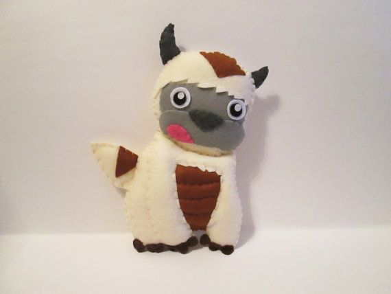 Baby Appa Plush Inspired by Avatar The Last by