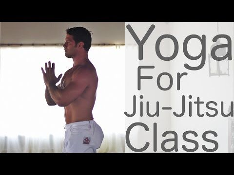 Yoga workout for Jiu Jitsu with Prof. Flavio Almeida and Lesley Fightmaster -