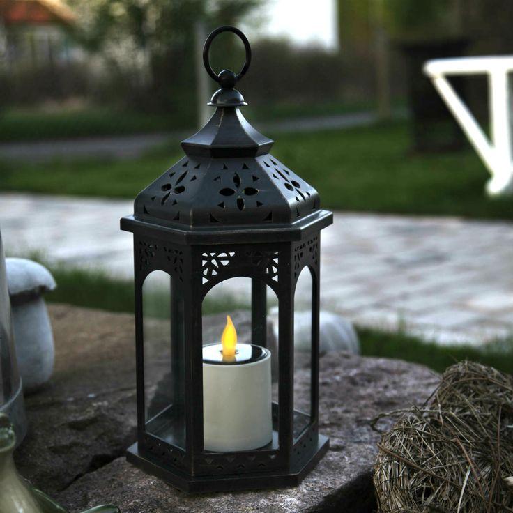 lanterne bougie exterieur great lampe tempte lanterne en. Black Bedroom Furniture Sets. Home Design Ideas