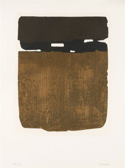 Artworks of Pierre Soulages (French, 1919) from galleries, museums and auction houses worldwide.