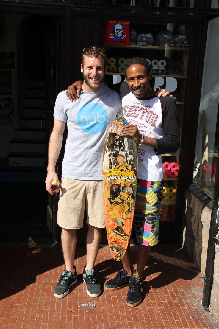 Mitch & Richi at Boardhub Long Street Cape Town