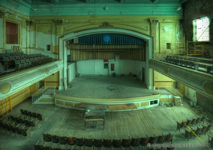 j.w. cooper school auditorium, shenandoah pa - matthew christopher ...