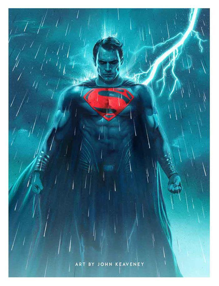 Batman v Superman: Dawn of Justice by John Keaveney