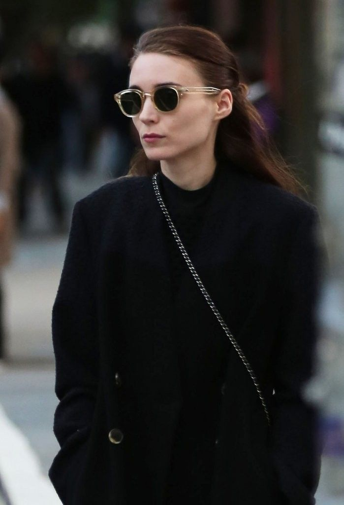 Rooney Mara and Charlie McDowell Go for a Stroll in NYC