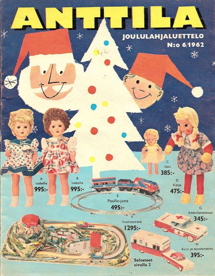 Anttila, Joululahjaluettelo 1962