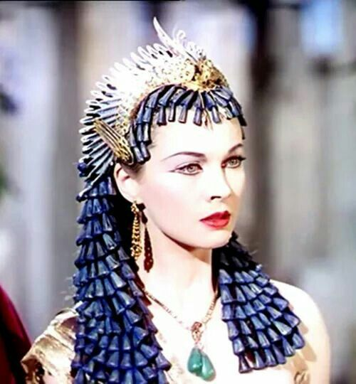 Vivien Leigh as Cleopatra in Caesar and Cleopatra, 1945