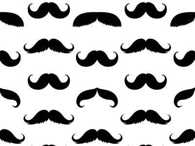 Svarta mustascher