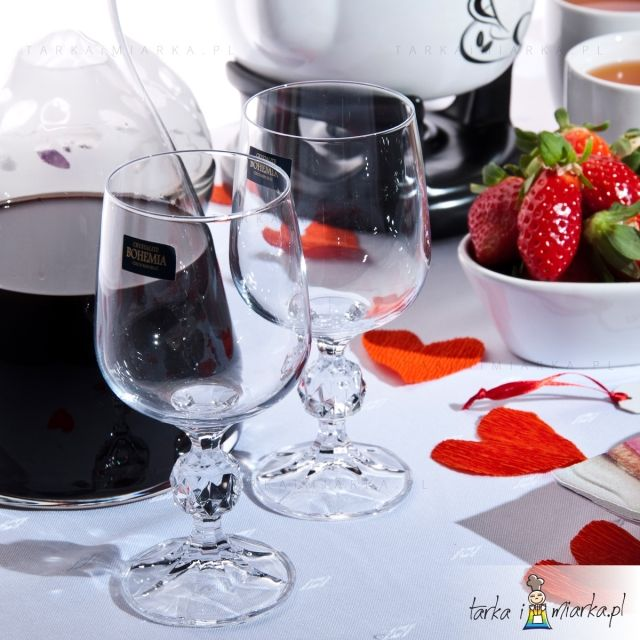 Kieliszki do czerwonego wina 230 ml Klaudia 6 szt.