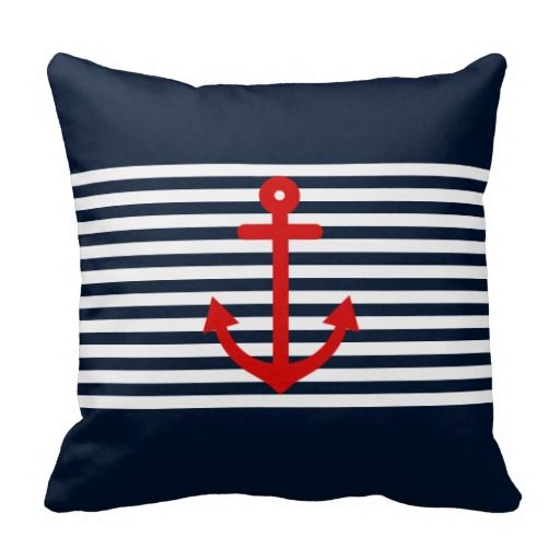 1000 Images About Decorative Nautical Pillows On Pinterest