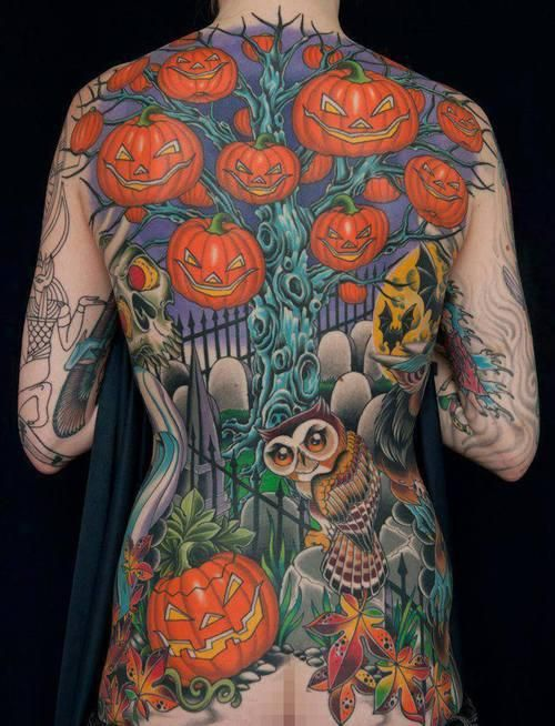 11 Spooky Halloween Tattoos